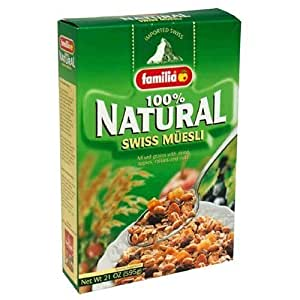 Amazon.com: Familia Muesli Swiss 21 Oz: Breakfast Muesli Cereals