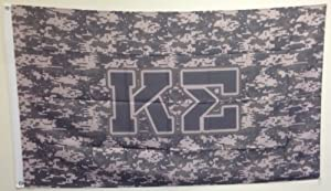 Kappa Sigma Camo Letter Flag by Scotty Gear Retail Corp