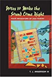 img - for NOTES TO MAKE THE SOUND COME RIGHT: FOUR INNOVATIONS OF JAZZ POETRY: Four Innovators of Jazz Poetry book / textbook / text book