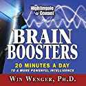 Brain Boosters: 20 Minutes a Day to a More Powerful Intelligence  by Win Wenger Narrated by Win Wenger