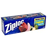 Ziploc Freezer Bags Value Pack,, Gallon Size - 30 count