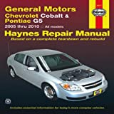 General Motors Chevrolet Cobalt & Pontiac G5: 2005 thru 2009 All Models (Haynes Manuals)
