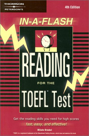 In-a-Flash:  Reading for the TOEFL Exam (Peterson's TOEFL Reading Flash)