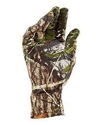 Under Armour Men\'s Camo HG Gloves, Medium, Mossy Oak Obsession (940)