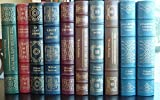 img - for The Sound and the Fury, Go Down Moses, Collected Stories Volumes 1 and 2, Absalom, Absalom! , As I Lay Dying, Reivers, Light in August, the Unvanquished, Intruder in the Dust, Easton Press 10 Volume Set book / textbook / text book