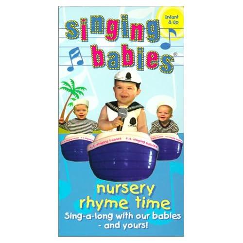 Nursery Rhyme Time [VHS]