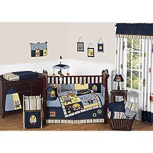 Sweet Jojo Designs Modern Robot Baby Bedding Collection