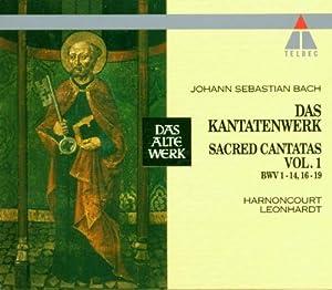 Cantates Sacrées,  Vol.1 : BWV 1-14, 16-19