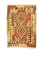 Kilim Carpets by Jalal Alfombra Kelim Kaudani (Marrón/Rojo/Beige)
