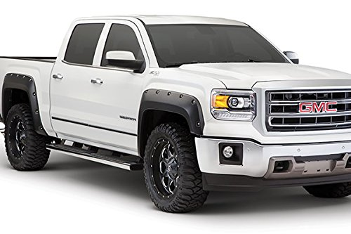 Bushwacker 4-Pc Pocket Style Fender Flare Set - Fits 2017 Ford F-250/350/450 Super Duty - 20942-02 (Ford F 350 Fender Flares compare prices)