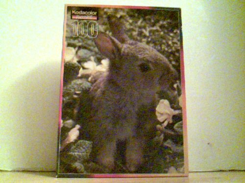 "Rabbit Puzzle * Zoe * Kodacolor 100 Pieces 11.5"" 16.25"" - 1"