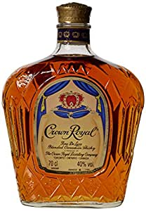 Crown Royal Blended Canadian Whiskey Bottle 70 cl