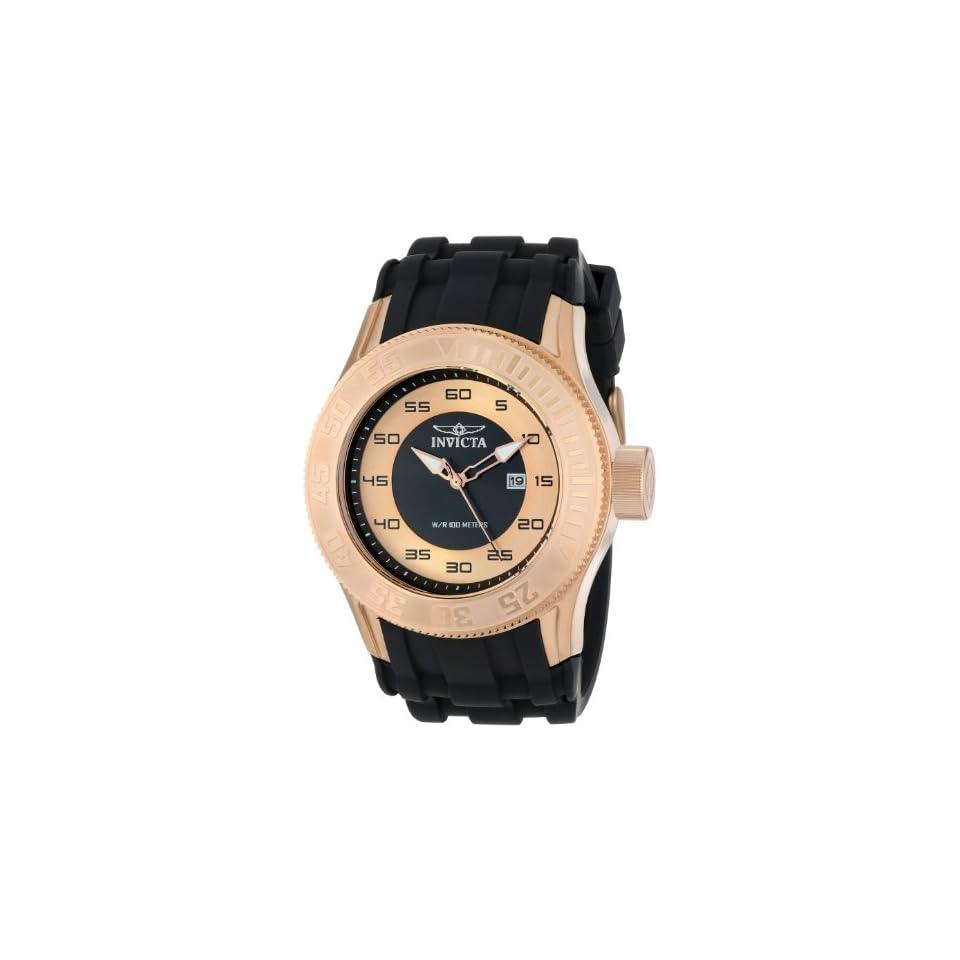Invicta Mens 14837 Pro Diver Analog Display Japanese Quartz Black Watch
