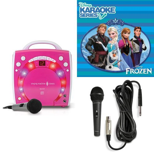 singing machine sml 283p cdg karaoke player