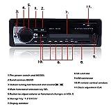 Zetong-Autoradio-mit-Bluetooth-Freisprecheinrichtung-und-Abspielfunktion-fr-SmartphoneHandyMP3-PlayerUSB-Anschluss-und-SD-Kartenslot4x-60WattAux-Eingang1DIN