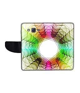 KolorEdge Printed Flip Cover For Samsung Galaxy On7 Multicolor - (1479-55KeMLogo12401SamOn7)