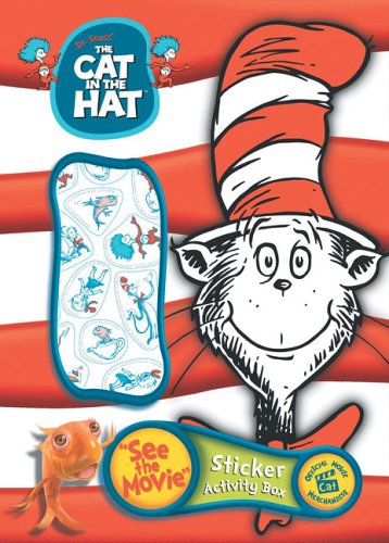 Cat in the Hat Sticker Book