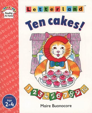 Ten Cakes! (Letterland Reading at Home) PDF