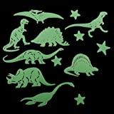 Glow in the Dark 14 Pack of Dinosaurs & Stars. A perfect gift for that Birthday Gift, Christmas Present or Fathers day gifts etc...