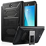 ULAK [KNOX ARMOR] Rugged Dual Layer Hybrid Protective Case Built with Kickstand for Samsung Galaxy Tab A 9.7 inch - (Black)