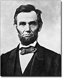 President Abraham Lincoln Portrait 1863 11x14 Museum Silver Halide Photo Print