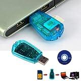 MiniEsting(TM) USB SIM Card Reader Writer Clone Copier Backup Adapter All Sim Cards GSM 3G XG