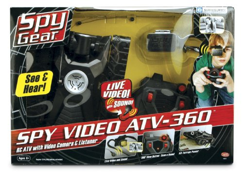Wild Planet Spy Gear Spy Video ATV-360
