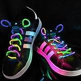 【Liroyal】光る靴ひも 「バーゲン」 フラッシュシューストリング 光るLED靴紐 (カラー)