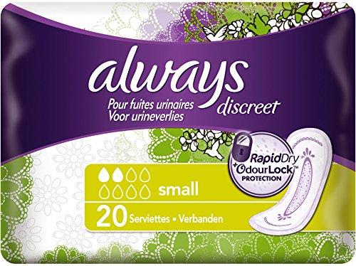always-discreet-serviettes-small-pour-fuites-urinaires-et-incontinence-x20