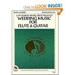 Mel Bay Wedding Music for Flute &#038; Guitar (Editiones Classicae) (Editiones Classicae)