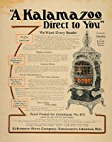 1904 Ad Kalamazzo Stoves Manufacturers Michigan - Original Print Ad