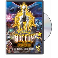 Pokemon: Arceus & The Jewel of Life: Artist Not Provided
