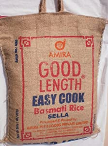 Amazon.com : Amira Basmati Rice, Sella, Parboiled, Easy