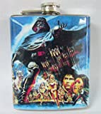 Vintage Star Wars Empire Strikes Back Poster 7 oz Stainless Flask