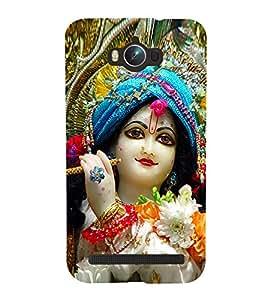 Lord Krishna 3D Hard Polycarbonate Designer Back Case Cover for Asus Zenfone Max ZC550KL :: Asus Zenfone Max ZC550KL 2016 :: Asus Zenfone Max ZC550KL 6A076IN