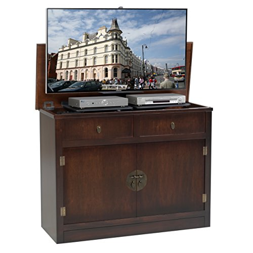 TVLiftCabinet, Inc Adagio Antique Coffee TV Lift Cabinet (Tvliftcabinet Inc compare prices)