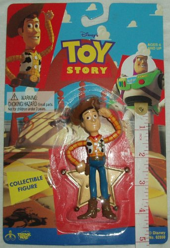 "1995 Toy Story 4"" Collectible Woody Figure - 1"