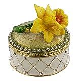 Juliana Flower Garden Daffodil Treasured Trinket - 15392