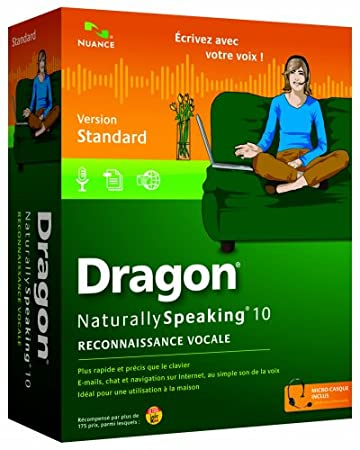 Dragon NaturallySpeaking standard v10