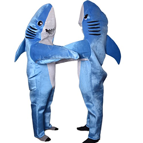 Wraith Of East Shark Costume Mascot Animal Suit Adult Cosplay (Mascot Costume Shark compare prices)