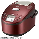 日立 圧力スチームIH炊飯器 メタリックレッド RZ-YV180M R