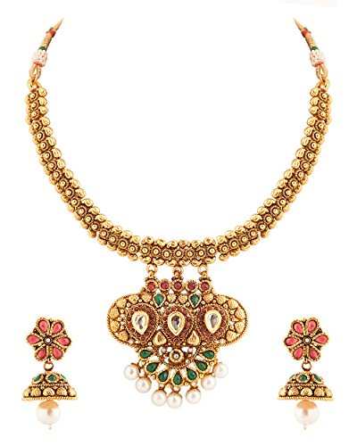 Voylla Rani Haar With Pearl Adornments (white)