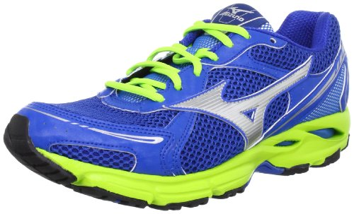 [ミズノ] MIZUNO WAVE RESOLUTE WIDE 8KN322 03 (ブルー×シルバー/260)