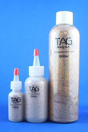 Tag Glitter - Dark Gold (15ml Bottle)