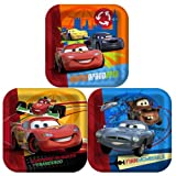 Disney's Cars 2 - Square Dinner Plates Party Accessory