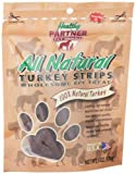 5162mYh6gIL. SL160  Healthy Partner Pet Snacks All Natural Turkey Strips, 6 Ounce Bags (Pack of 4)