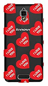 WOW Transparent Printed Back Cover Case For Lenovo S660