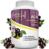 Pure Acai Berry Health Supplement - Powerful Antioxidant in Capsules - Increases Metabolism - Burns Calories - Boosts Energy Levels. Order Risk Free!