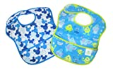 Disney Baby 2-pack Waterproof SuperBib - Blue Monsters and Mickey Icon