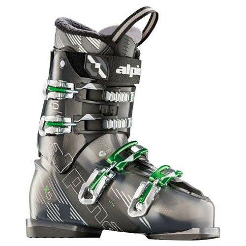 Alpina Skischuhe X5 schwarz-grau/grün